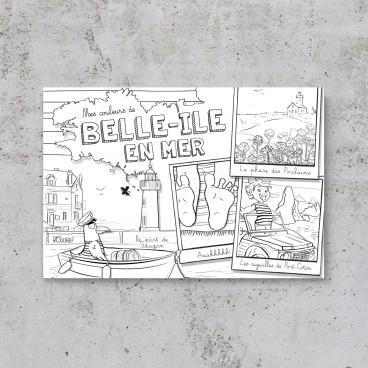 Carte postale Belle-Île-en-Mer