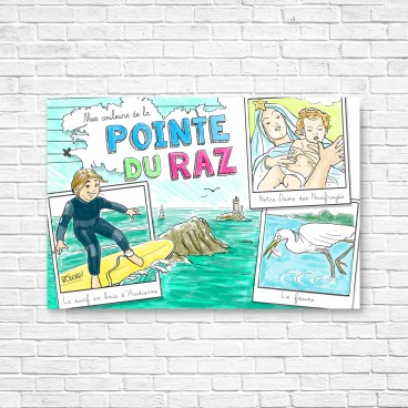 Carte postale Pointe du Raz