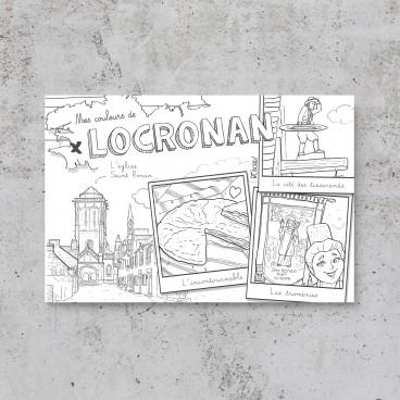 Carte postale Locronan