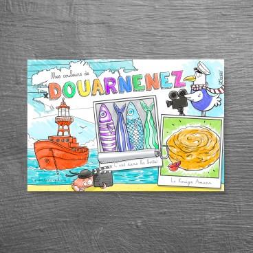 Carte postale Douarnenez