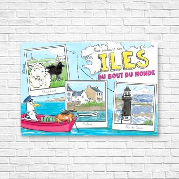 Carte postale Iles du bout du monde