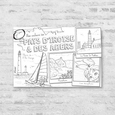 Carte postale Pays d'Iroise et des abers