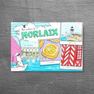 Carte postale Morlaix