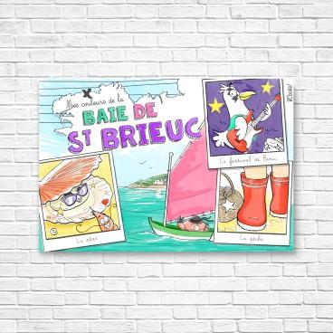 Carte postale Baie de Saint-Brieuc