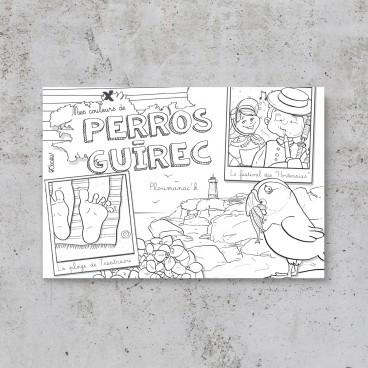 Carte postale Perros-Guirec