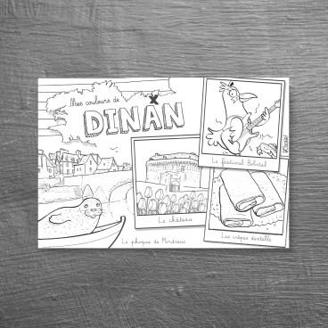 Carte postale Dinan