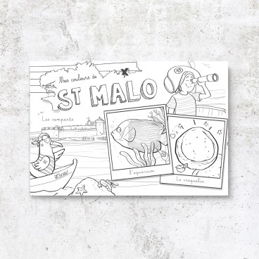 Carte postale Saint-Malo