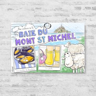 Carte postale Baie du Mont-Saint-Michel