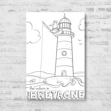 Carte postale Phare
