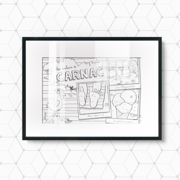 Carte postale Carnac