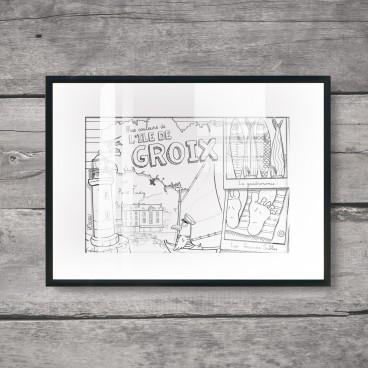 Carte postale L'Île de Groix