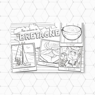 Carte postale Bretagne Voile