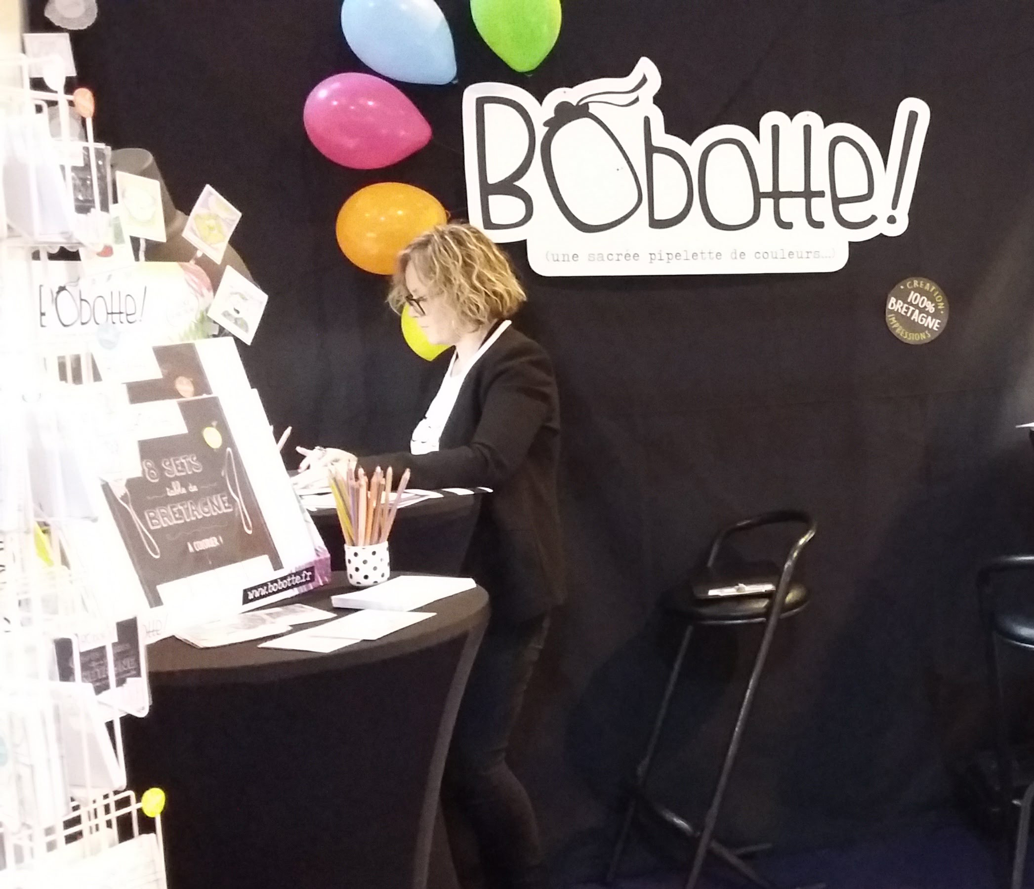Bobotte au salon Hexagone à Rennes
