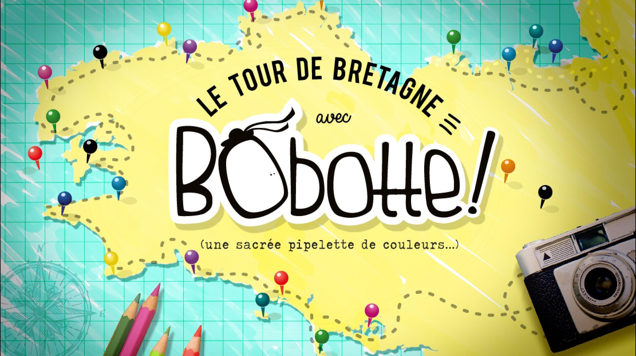 Des cartes à colorier de toute la Bretagne